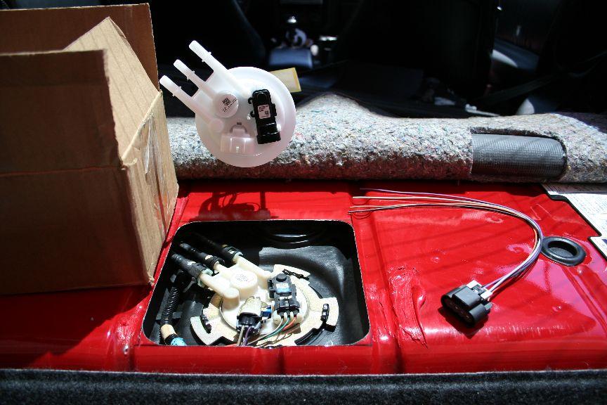1999 Camaro SS fuel pump replacement -