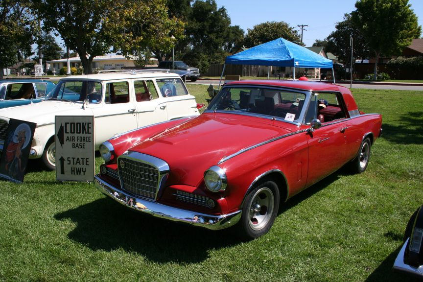 Ryon Park Car Show In Lompoc Pictures - Lompoc car show
